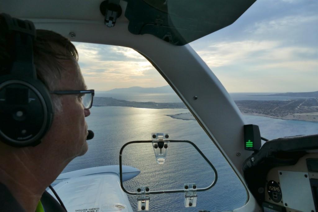 Landing at Karpathos LGKP
