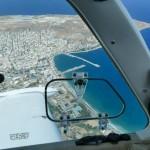 Landing at Sitia LGST, Crete