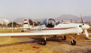 "Slingsby Firefly ""SB"" at Kai Tak (c. 1993)"