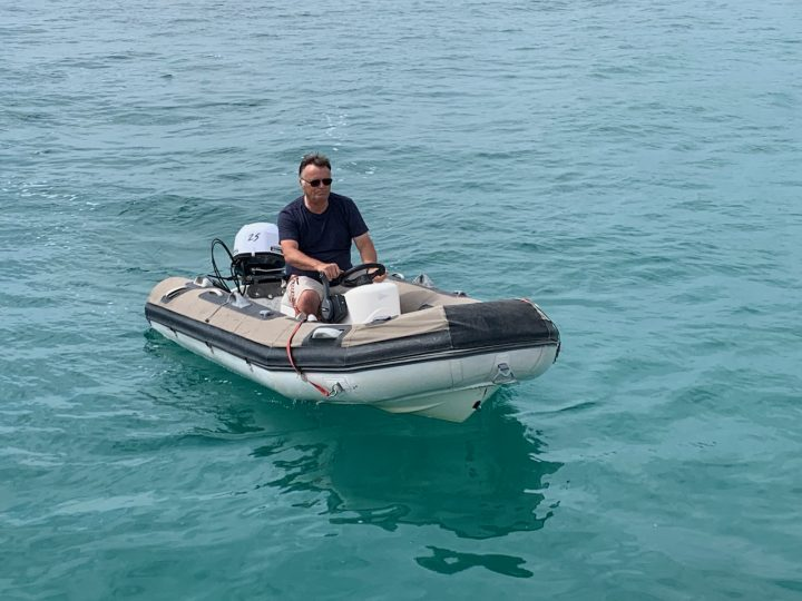 Tender with new motor
