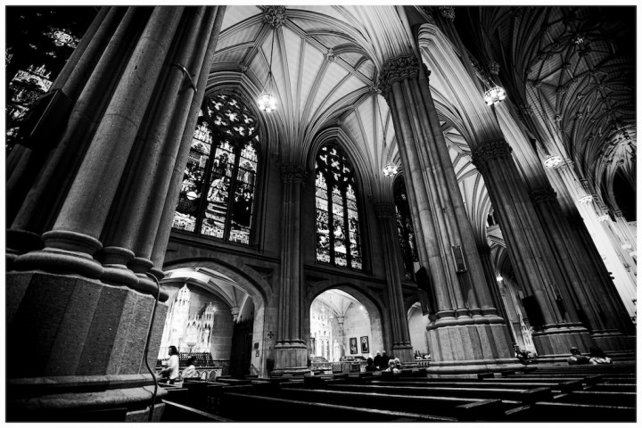 St Patrick's Cathedral - after