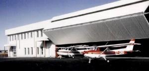 Sudurflug's hangar Keflavik. Photo: Suduflug